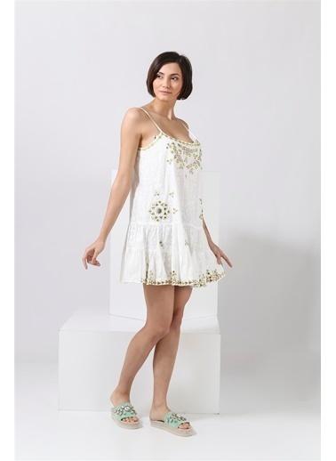 Julietdunn Elbise Beyaz